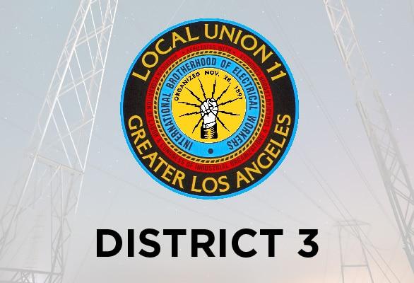 District 3 Report – April 2021