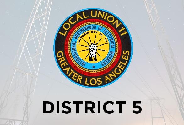 District 5 Report — April 2021