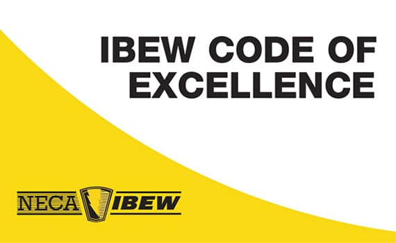 IBEW Code of Excellence